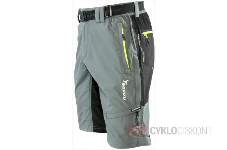 Volné kalhoty s cyklovložkou SILVINI Rango  fd11662ce3