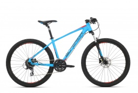 "27,5"" SUPERIOR XC 857 mod.017   (matte cyan blue-black-team red)"