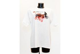 800f48ccf4 Bavlněné promo tričko s potiskem loga CYKLODISKONT